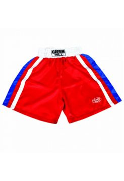 Шорты для бокса GREEN HILL BOXING SHORTS OLYMPIC красные