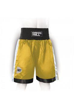 Боксерские шорты GREEN HILL PIPER золотые