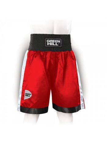 Боксерские шорты GREEN HILL PIPER красно-черные