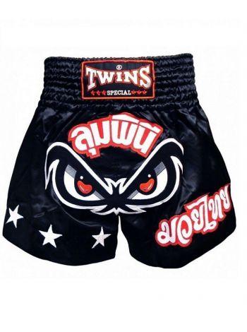 Шорты для тайского бокса Twins TBS-02 черные