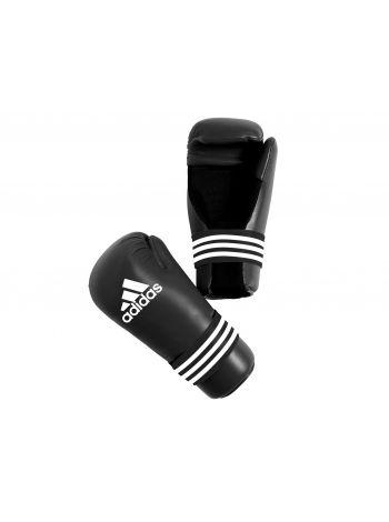 Перчатки каратэ Adidas Semi Contact черные