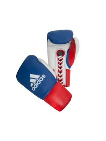 Боксерские перчатки Adidas Professional Russian Edition на шнуровке