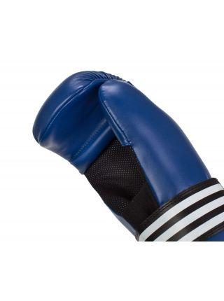 Перчатки карате Adidas Semi Contact синие