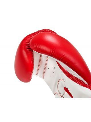 Боксерские перчатки Adidas Training красно-белые