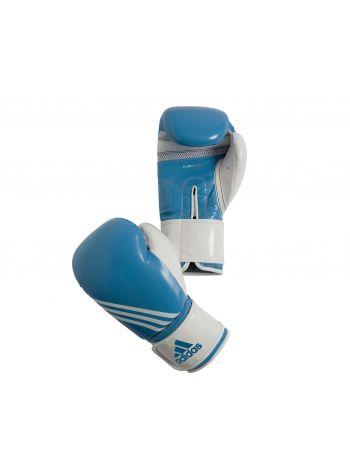 Боксерские перчатки Adidas Fitness голубовато-белые