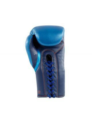 Боксерские перчатки Adidas Glory Professional сине-оранжевые
