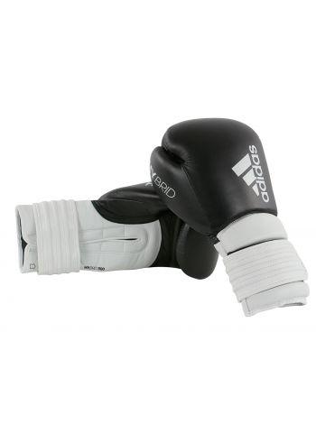 Боксерские перчатки Adidas Hybrid 300 черно-белые