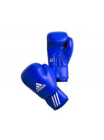 Боксерские перчатки Adidas AIBA синие