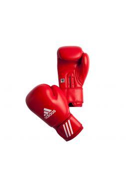 Боксерские перчатки Adidas AIBA красные