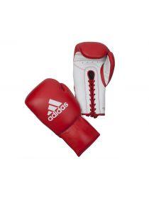 Боксерские перчатки Adidas Glory Professional красно-белые