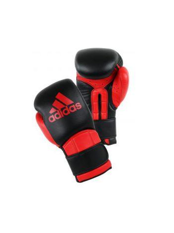 Боксерские перчатки Adidas Super Pro Safety черно-красные