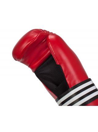 Перчатки карате Adidas Semi Contact красные