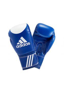Боксерские перчатки Adidas Ultima Target WACO сине-белые