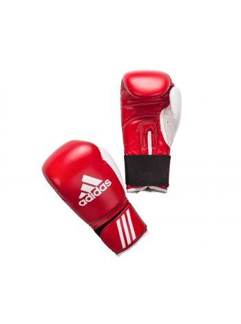 Боксерские перчатки Adidas Response красно-белые