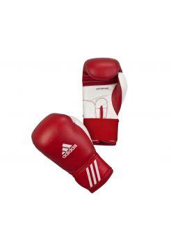 Боксерские перчатки Adidas Performer красно-белые