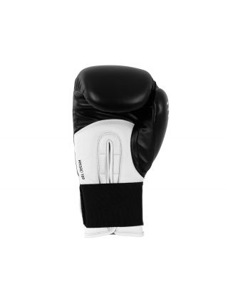 Боксерские перчатки Adidas Hybrid 100 черно-белые