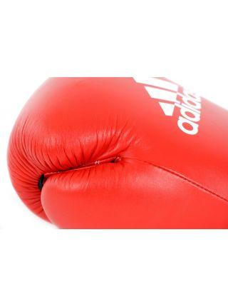 Боксерские перчатки Adidas Ultima Competition красно-белые