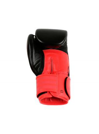 Боксерские перчатки Adidas Hybrid 200 Dynamic Fit черно-красные