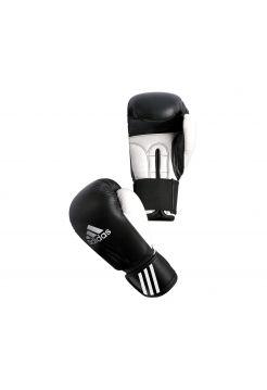 Боксерские перчатки Adidas Performer черно-белые