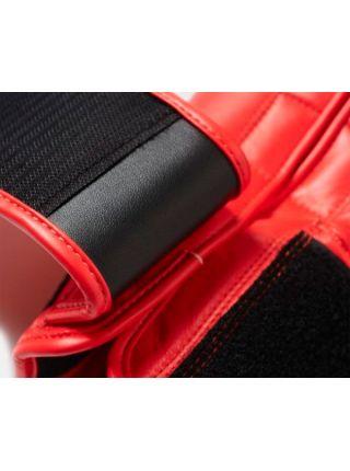 Боксерские перчатки Adidas Hybrid 200 красно-золотые