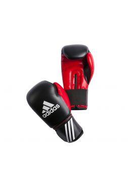 Боксерские перчатки Adidas Response черно-красные
