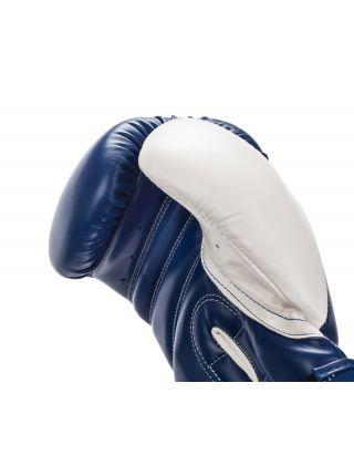 Боксерские перчатки Adidas Response сине-белые