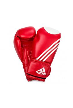 Боксерские перчатки Adidas Ultima Target WACO красно-белые