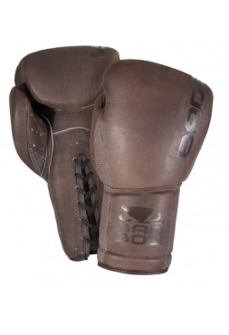 Боксерские перчатки BAD BOY LEGACY LACE UP коричневые