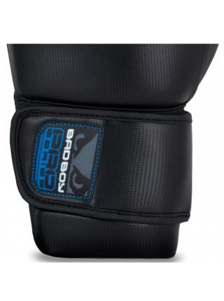 Боксерские перчатки BAD BOY PRO SERIES 3.0 черно-синие