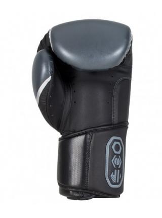 Боксерские перчатки BAD BOY PRO SERIES 3.0 черно-серые