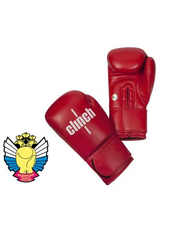 Боксерские перчатки Clinch Olimp красные
