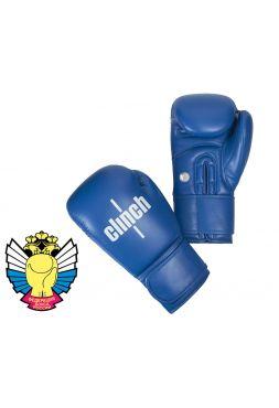 Боксерские перчатки Clinch Olimp синие