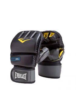 Снарядные боксерские перчатки EVERLAST PU GEL черные