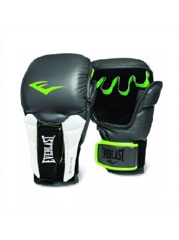 Перчатки ММА тренировочные Everlast PRIME серо-зеленые