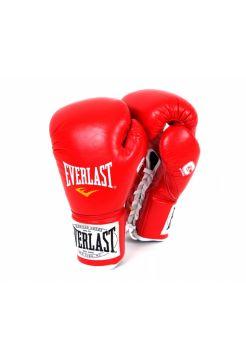 Боксерские боевые перчатки EVERLAST 1910 FIGHT красные