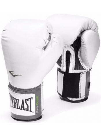 Боксерские перчатки Everlast PU PRO белые