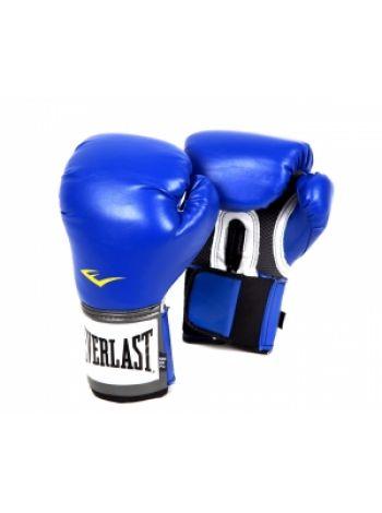 Боксерские перчатки Everlast PU PRO синие