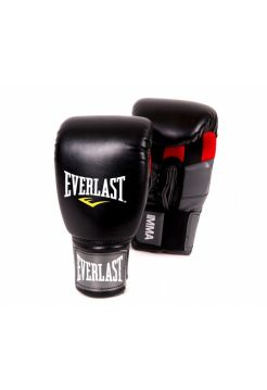 Боксерские перчатки Everlast CLINCH STRIKE черные