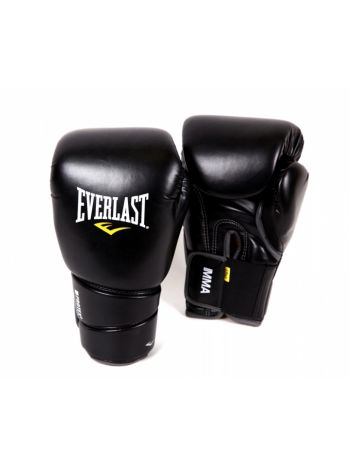 Боксерские перчатки Everlast PROTEX2 MUAY THAI черные