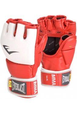 Тренировочные перчатки Everlast MMA GRAPPLING красные