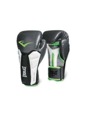 Боксерские перчатки Everlast PRIME серо-зеленые