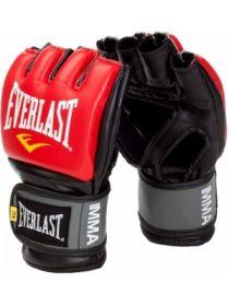 Перчатки ММА Everlast PRO STYLE красные