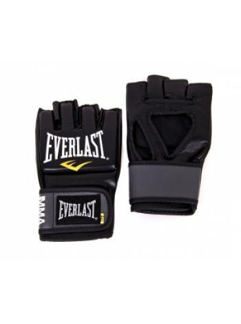 Перчатки ММА Everlast PRO STYLE черные