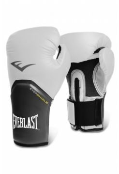 Боксерские перчатки Everlast PRO STYLE ELITE бело-серые
