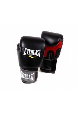 Боксерские перчатки Everlast PRO STYLE MUAY THAI черные