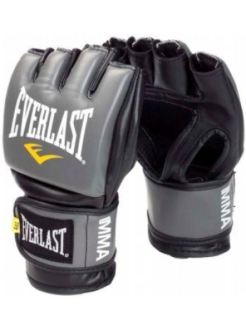 Перчатки ММА Everlast PRO STYLE серые
