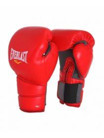 Боксерские тренировочные перчатки Everlast PROTEX2 красные