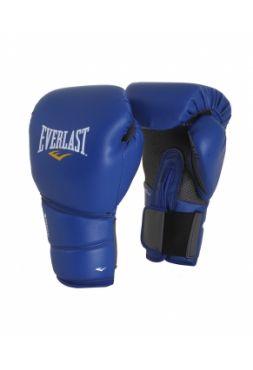 Боксерские тренировочные перчатки Everlast PROTEX2 синие