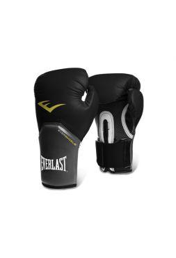Перчатки для бокса тренировочные Everlast PRO STYLE ELITE черные