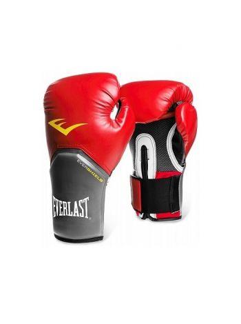 Перчатки для бокса тренировочные Everlast PRO STYLE ELITE красные